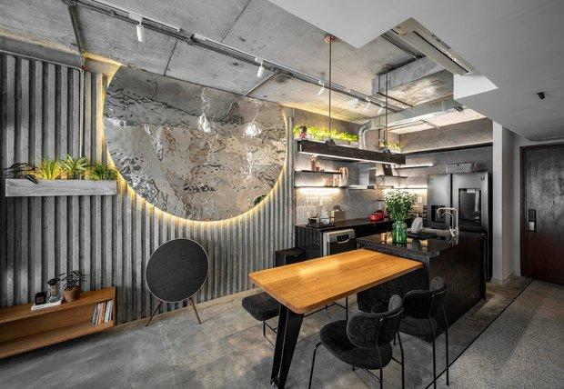 Mạnh tay đập bỏ hết tường và trần nhà, chàng trai Sài Gòn có ngay căn hộ studio cực ấn tượng, không gian mở được tận dụng tối đa - Ảnh 13.
