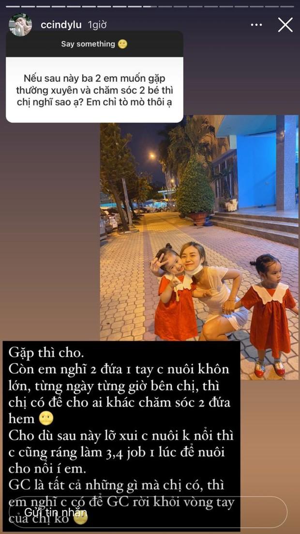 Bảo Ngọc lên tiếng làm rõ chuyện cho Hoài Lâm gặp và chăm con hậu ly hôn - Ảnh 2.