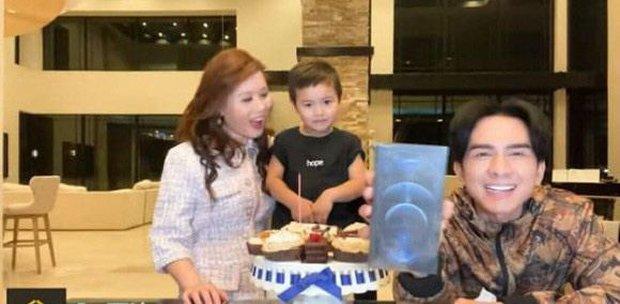 Đan Trường đón sinh nhật giản dị bên gia đình nhưng quà khủng do con trai 3 tuổi tặng mới gây bất ngờ! - Ảnh 5.