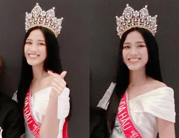 Góc bối rối: Dụi mắt vài lần mới nhận ra tân Hoa hậu Việt Nam Đỗ Thị Hà bên Duy Khánh, gương mặt hốc hác đáng lo - Ảnh 3.