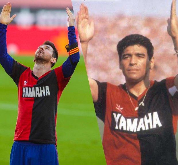 Barca đại thắng 4-0, Messi ghi bàn và mặc chiếc áo tri ân Maradona - Ảnh 10.
