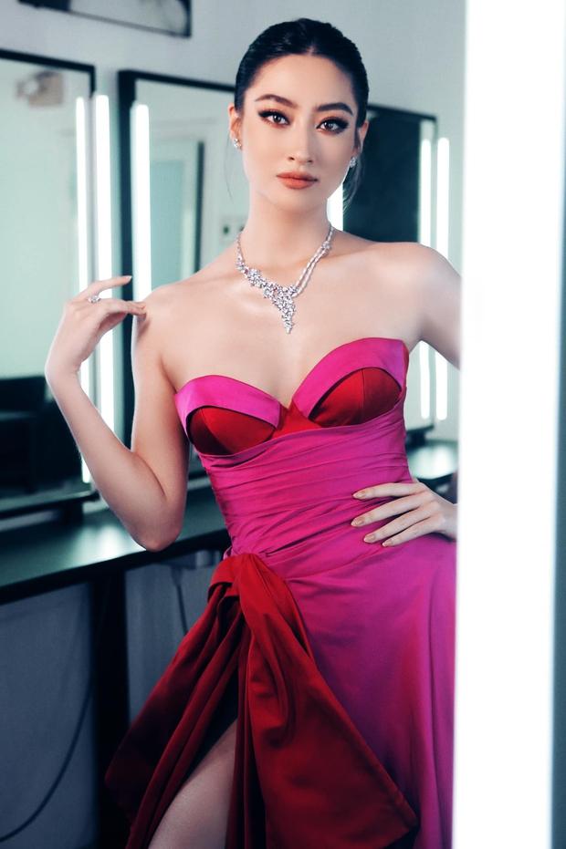 Lương Thùy Linh: Hoa hậu không phải một nghề, không chấp nhận mình học dốt - Ảnh 2.
