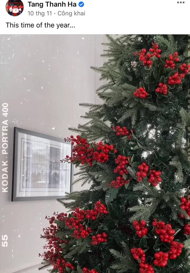 Dàn sao Vbiz rộn ràng đón lễ Tạ ơn - Giáng sinh, choáng nhất Ngọc Trinh, Phạm Hương và Lã Thanh Huyền trang hoàng nhà lồng lộn - Ảnh 11.