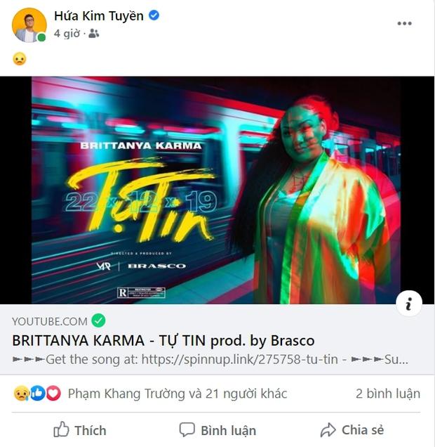 Dân mạng đồng loạt chia sẻ lại thông điệp tích cực trong MV Tự Tin của rapper gốc Việt Brittanya Karma - Ảnh 14.