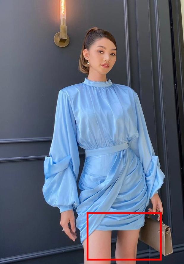 Jolie Nguyễn đăng ảnh khoe visual sắc nét nhưng lại bị netizen soi bắp đùi lạ quá là lạ - Ảnh 3.