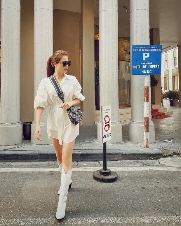 """Instagram look của sao Việt tuần qua: Chi Pu """"quẩy"""" skinny jeans ít ai mặc, Quỳnh Kool cố tình diện đồ lộ dây áo - Ảnh 13."""