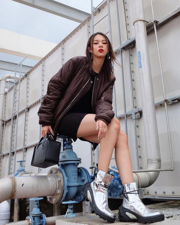 """Instagram look của sao Việt tuần qua: Chi Pu """"quẩy"""" skinny jeans ít ai mặc, Quỳnh Kool cố tình diện đồ lộ dây áo - Ảnh 8."""