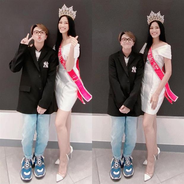 Bị netizen mỉa mai cố tình dìm hàng Hoa hậu Việt Nam Đỗ Thị Hà, Duy Khánh lên tiếng làm rõ - Ảnh 2.