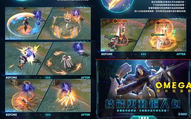 Liên Quân Mobile có cập nhật lớn: Omen, Thorne bị giảm sức mạnh thê thảm, Omega, Butterfly... được làm mới toàn bộ - Ảnh 1.