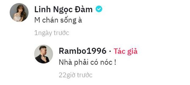 Rambo Cao Lãnh đăng video hài hước trêu người yêu hotgirl Trân Mèo, Linh Ngọc Đàm vào cà khịa ngay lập tức! - Ảnh 2.
