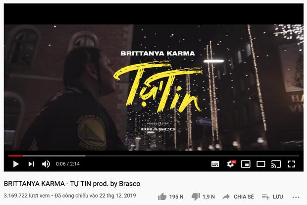 Dân mạng đồng loạt chia sẻ lại thông điệp tích cực trong MV Tự Tin của rapper gốc Việt Brittanya Karma - Ảnh 4.
