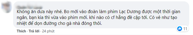 Ăn xong tiệc khai máy với La Vân Hi, Trình Tiêu lại chạy đi làm fan cuồng Vương Nhất Bác? - Ảnh 4.