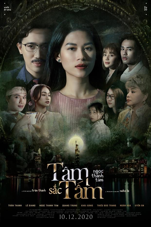 Ngọc Thanh Tâm nhá hàng web drama Tâm Sắc Tấm, thính luôn Trấn Thành nhận vai trò cực oách - Ảnh 1.