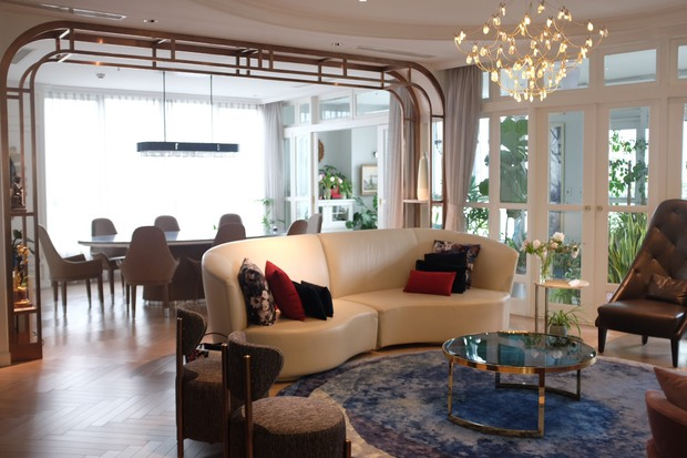 Căn hộ 350m2 của nữ doanh nhân Hà Nội: Phong cách Paris thanh lịch, nội thất nhập từ Ý, Pháp - Ảnh 11.