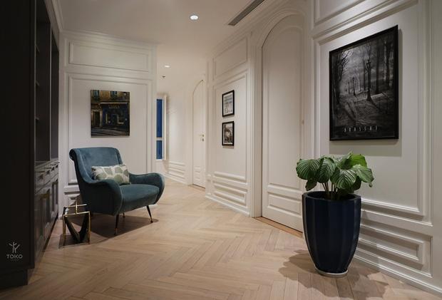 Căn hộ 350m2 của nữ doanh nhân Hà Nội: Phong cách Paris thanh lịch, nội thất nhập từ Ý, Pháp - Ảnh 19.