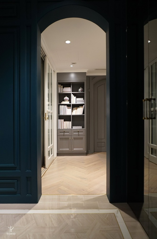Căn hộ 350m2 của nữ doanh nhân Hà Nội: Phong cách Paris thanh lịch, nội thất nhập từ Ý, Pháp - Ảnh 18.