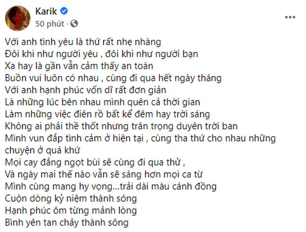 Karik nhá hàng bản rap love mới toanh cực mùi mẫn, nhưng dân tình lại chỉ đổ xô gọi tên Binz? - Ảnh 1.