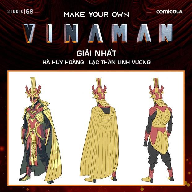 Xôn xao tạo hình VINAMAN: Cóp nhặt từ cả rổ siêu anh hùng, gai mắt nhất là mặt nạ nhưng tác giả bảo bỏ không được đâu - Ảnh 1.