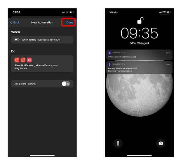 Sạc iPhone đến 80% sẽ giúp tăng tuổi thọ pin, nhưng làm sao để nhận được thông báo ngay lúc ấy? - Ảnh 9.