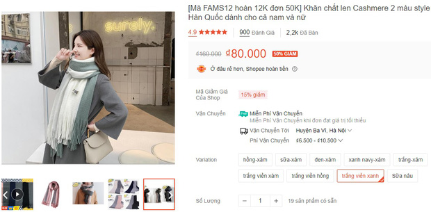5 mẫu khăn len từ 39k bán chạy nhất kèm cả review xịn cho bạn - Ảnh 4.