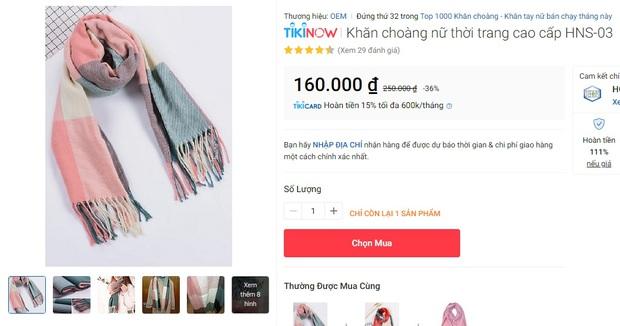 5 mẫu khăn len từ 39k bán chạy nhất kèm cả review xịn cho bạn - Ảnh 8.