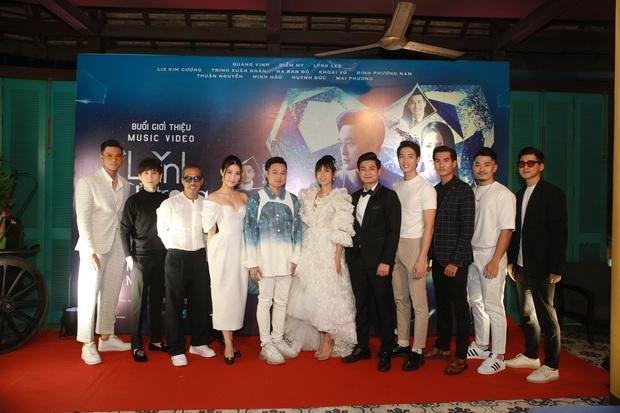 Quang Vinh comeback hát nhạc Mr. Siro, MV miêu tả tổ hợp tình yêu hết sức phức tạp của Lynk Lee, Liz Kim Cương và Diễm My 9x - Ảnh 15.