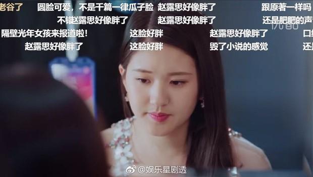 Tranh cãi trên Weibo: Fan đòi Triệu Lộ Tư phải giảm cân, ảnh nhan sắc và vóc dáng liên tục bị đào lại - Ảnh 5.