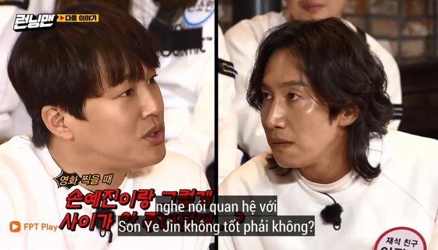 Lee Kwang Soo đơ người khi bị nghi bất hòa với Son Ye Jin trong quá trình đóng phim - Ảnh 4.