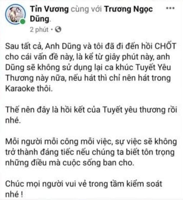 Sau lùm xùm tại Ký Ức Vui Vẻ, rapper đồng sáng tác tuyên bố Young Uno sẽ ngừng sử dụng bản hit Tuyết Yêu Thương - Ảnh 3.