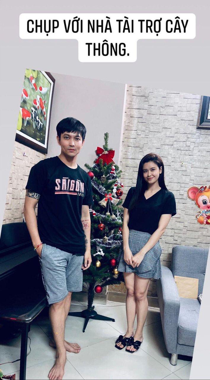 Như chưa hề có cuộc chia ly: Trương Quỳnh Anh vui vẻ hội ngộ Tim, khung ảnh 3 người cùng đón Giáng sinh gây xúc động - Ảnh 3.