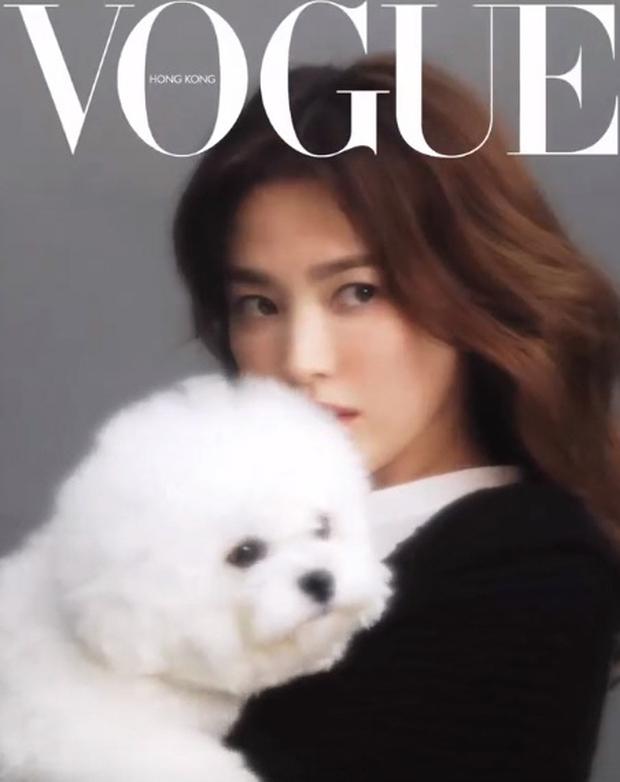 Ảnh hậu trường đỉnh cao của Song Hye Kyo: Mờ nhòe out nét khó hiểu, nhưng nhan sắc đẹp miễn chê đã cân lại ngoạn mục - Ảnh 5.