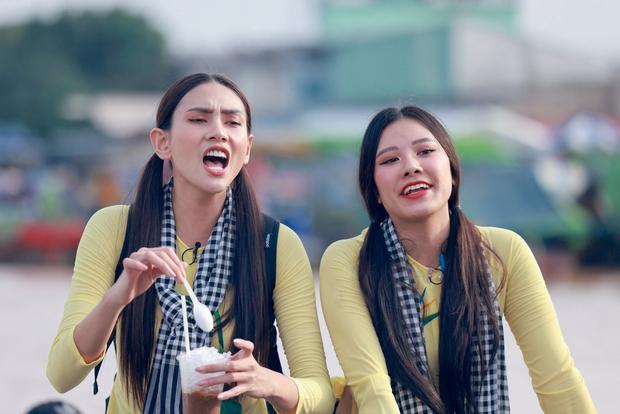 Hương Ly bị Võ Hoàng Yến nhắc nhở: Tham thì thâm đó! vì khai màn drama ở Vietnam Why Not - Ảnh 3.