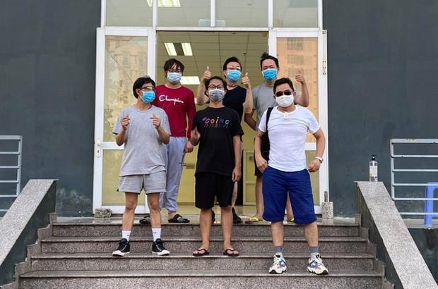 Xúc động bức vẽ của nghệ sĩ Chí Tài để lại ở khu cách ly và hành động tử tế chú dành cho các bạn du học sinh - Ảnh 3.