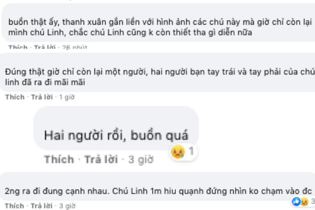 Netizen nghẹn ngào truyền tay bức ảnh đau lòng của Hoài Linh - Hữu Lộc - Chí Tài: Hai người ra đi, một người đơn độc - Ảnh 5.