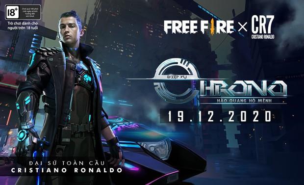 Ronaldo xuất hiện cực ngầu trong Free Fire với khả năng bắn súng đỉnh cao, bí ẩn về nhân vật mới đã được tiết lộ? - Ảnh 3.