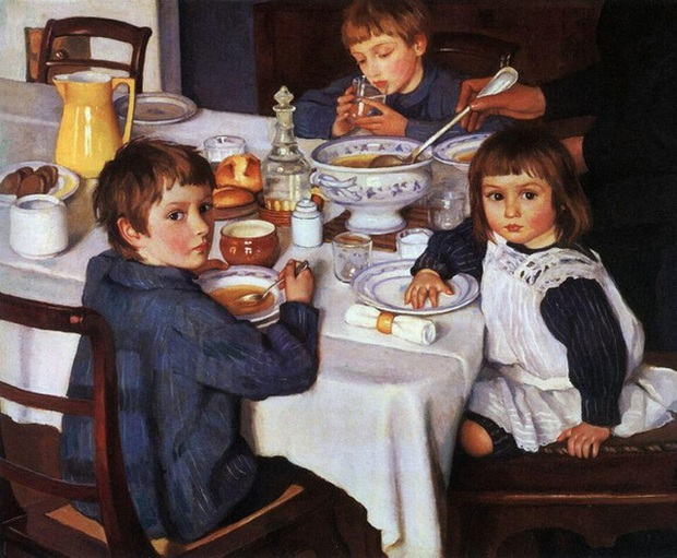Zinaida Serebriakova - Họa sĩ tài ba được Google vinh danh - có dòng dõi gia đình khủng như thế nào? - Ảnh 4.