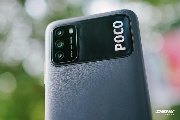 Trên tay POCO M3: Chỉ hơn 3 triệu đồng đã có mặt lưng giả da, loa kép, camera 48MP, pin khủng 6.000mAh - Ảnh 6.