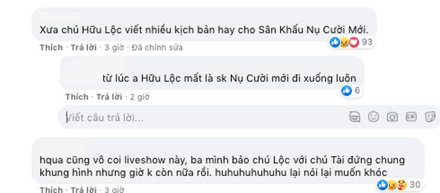 Netizen nghẹn ngào truyền tay bức ảnh đau lòng của Hoài Linh - Hữu Lộc - Chí Tài: Hai người ra đi, một người đơn độc - Ảnh 6.
