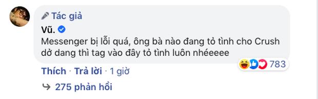 Vũ nhập vai chàng trai tủ kính trong MV mới, nhắn nhủ ai đang cô đơn thì tỏ tình crush luôn và ngay khi Facebook Messenger gặp lỗi đi! - Ảnh 7.
