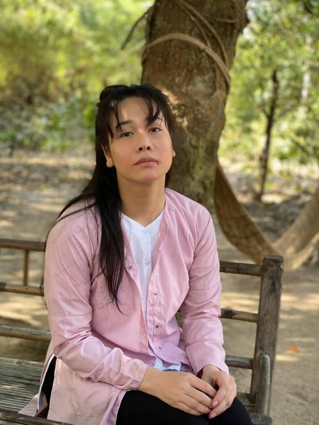 Nhật Kim Anh trẻ đẹp rạng rỡ trên phim trường chỉ nhờ đổi kiểu tóc, chị em mau ùa vào học hỏi! - Ảnh 3.