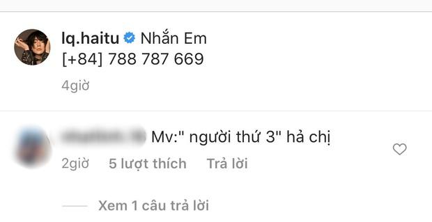 """Hải Tú tiếp tục tung """"thính"""" với Sơn Tùng M-TP, fan đặt nghi vấn MV """"người thứ 3"""", đến Kay Trần - Ben Phạm cũng khó chịu ra mặt? - Ảnh 4."""