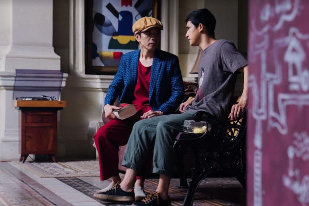 Chém gió vài câu, Thái Hòa gạ được trai trẻ Trần Ngọc Vàng về liền một team ở trailer Người Cần Quên Phải Nhớ - Ảnh 9.