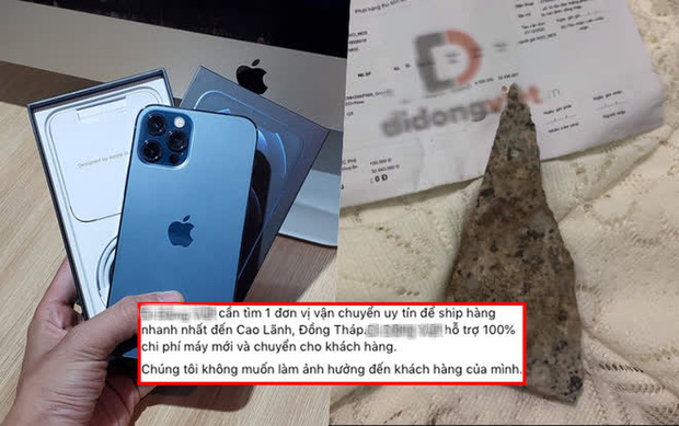 Sau sự việc ồn ào mua iPhone 12 Pro Max nhưng được giao mảnh đá vỡ, phía cửa hàng có pha xử lý khiến tất cả phải trầm trồ! - Ảnh 1.