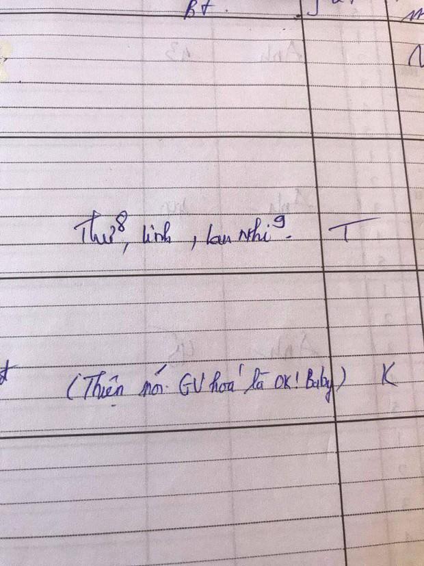 Nam sinh chơi lớn dám gọi giáo viên bằng một từ, cô tức anh ách ghi ngay vào sổ đầu bài - Ảnh 1.