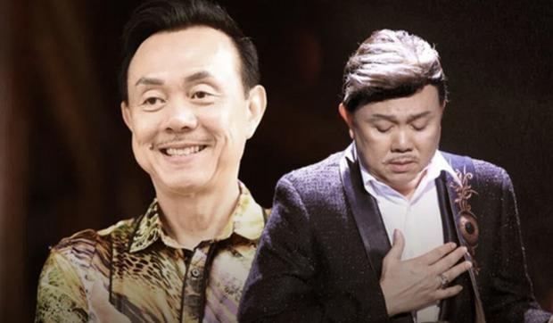 Clip: Đang biểu diễn, Phi Nhung bật khóc nghẹn ngào trên sân khấu vì biết tin NS Chí Tài qua đời - Ảnh 4.