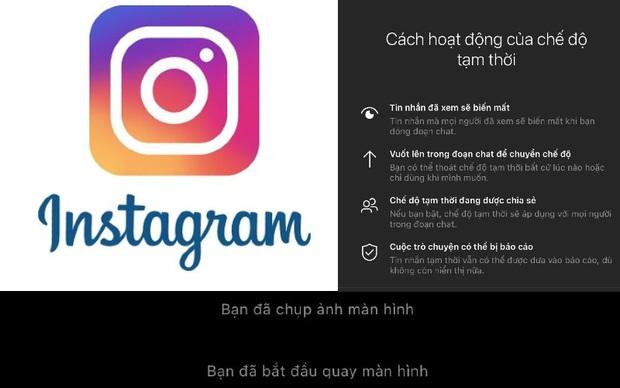 Instagram chính thức gửi thông báo về chính chủ khi bị chụp màn hình, người người nhà nhà kháo nhau 1001 cách lách luật - Ảnh 1.
