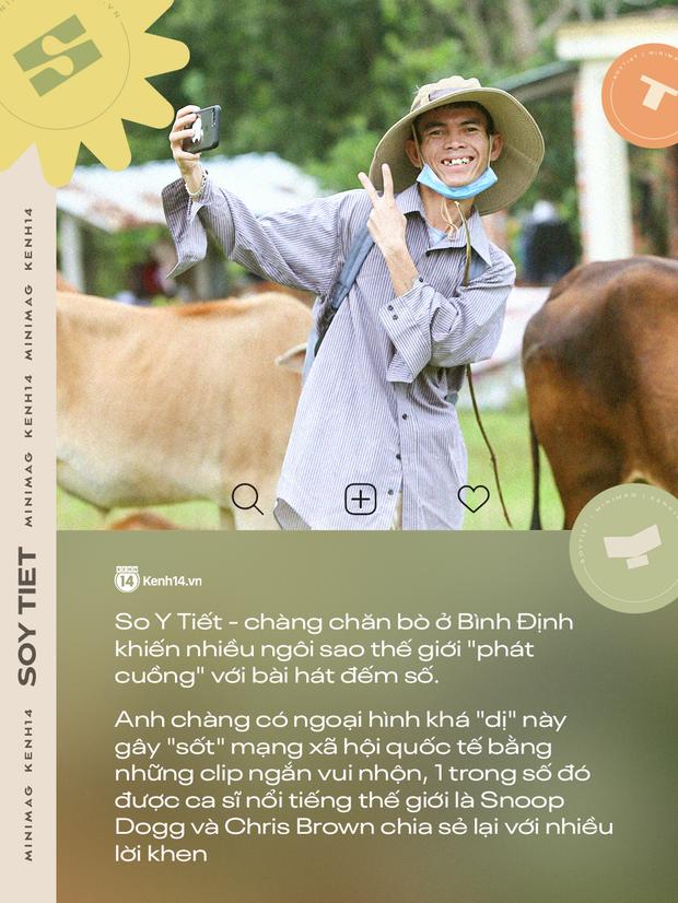 Về Bình Định chăn bò cùng Soytiet: Chàng trai mồ côi từng đi ăn xin rồi trở thành hiện tượng mạng khiến nhiều sao quốc tế phát cuồng - Ảnh 4.