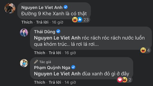 Quỳnh Nga đăng ảnh khoe vòng 1 táo bạo, Việt Anh liền có ngay lời bình chơi chữ gây sốt - Ảnh 3.