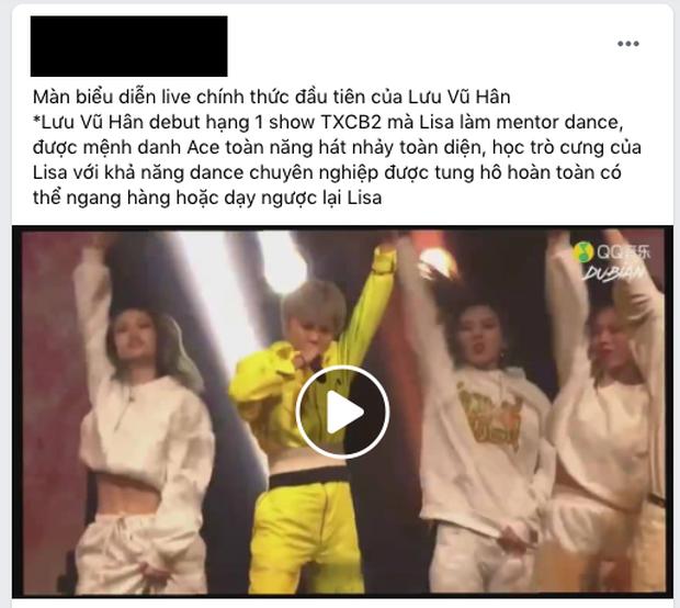 Lưu Vũ Hân gây tranh cãi với sân khấu solo: Kẻ chê quá phèn, fan tuyên bố đủ khả năng dạy ngược lại Lisa bị ném đá tơi bời  - Ảnh 4.