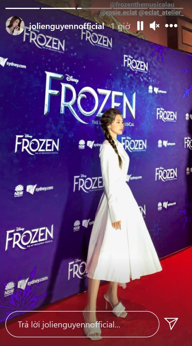 HOT: Sau thời gian dài ẩn mình, Jolie Nguyễn lần đầu tái xuất rạng rỡ trên thảm đỏ tại Úc - Ảnh 2.
